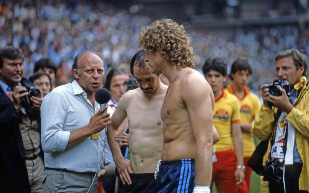 El Anschluss in Gijon bei der WM 1982.