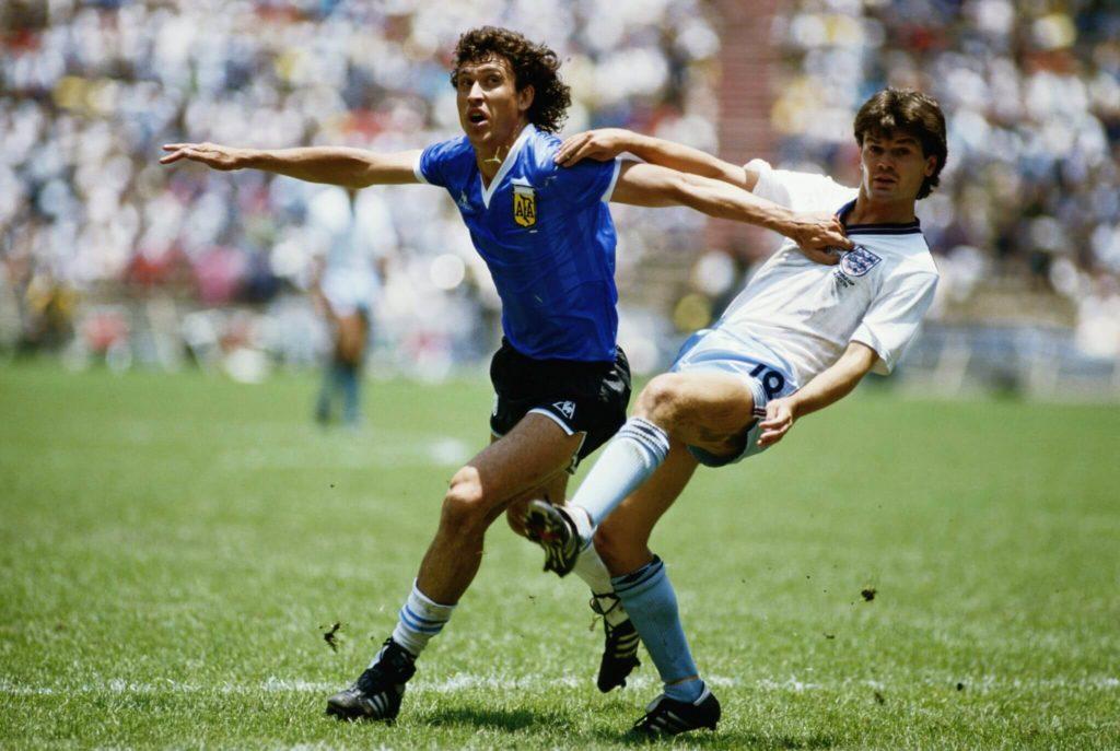 England gegen Argentinien bei der WM 1986.