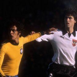 Roberto Dinamite im Dress der brasilianischen Nationalelf.